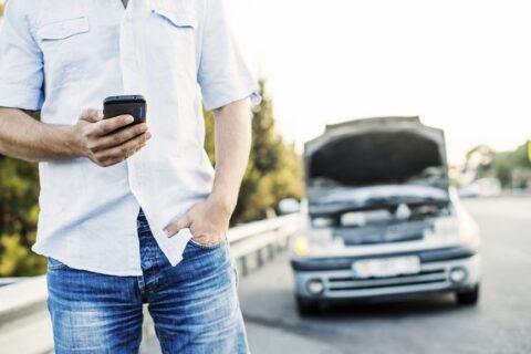 Jak odholować unieruchomiony samochód?